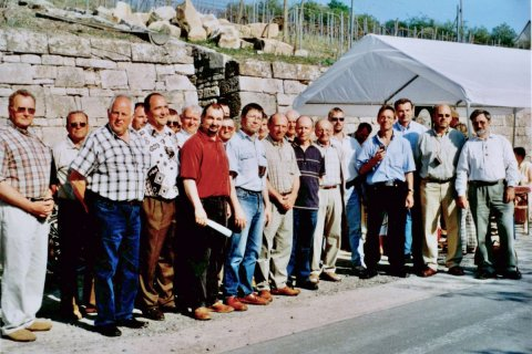 Mai 2006. Zum Freyburger Weinfrühling